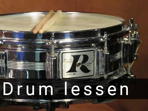 Drum lessen bij Muziek Centrum Hoorn